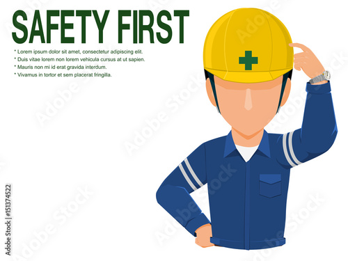 Industrial Worker Is Advising You To Realize Safety On Transparent Background Buy This Stock Vector And Explore Similar Vectors At Adobe Stock Adobe Stock