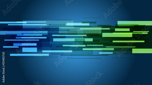 Abstract Background Gradient Colour Blue To Green Modern