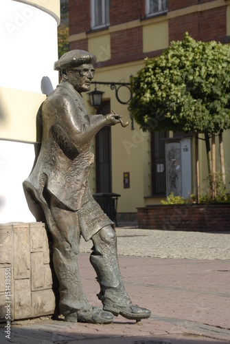 Fototapeta Tarnow, Pomnik Brandstaettera.