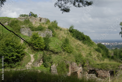 Fototapeta Tarnow, Gora sw. Marcina (ruiny zamku Tarnowskich).
