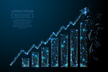 Abstract Image Of A Growth Cha...