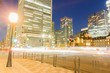 in front of tokyo station in night time