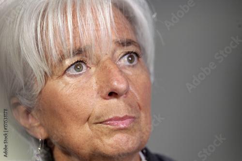 International Monetary Fund Managing Director Christine