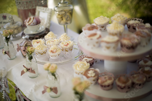 Poster Dairy products Cupcake table decoration