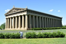 Historic Replica Of The Parthenon At Centennial Park Nashville, Tennessee