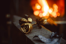 Forged Flower In The Smithy