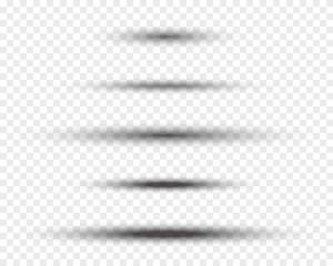 oval vector shadows