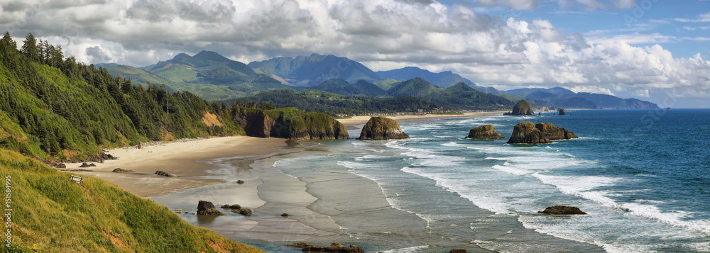 Fototapety, obrazy: Cannon Beach in Oregon