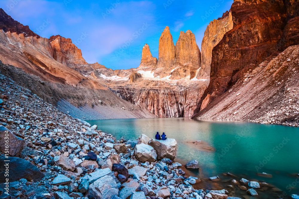 Fototapety, obrazy: Torres del Paine National Park, Patagonia, Chile
