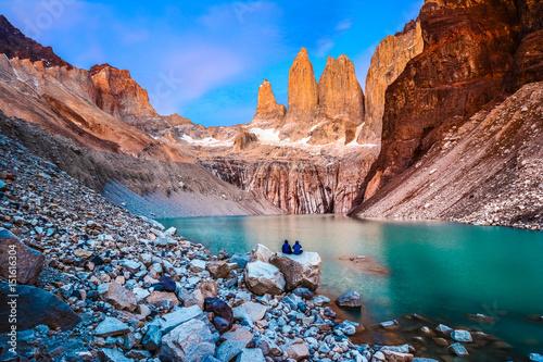 Tablou Canvas Torres del Paine National Park, Patagonia, Chile