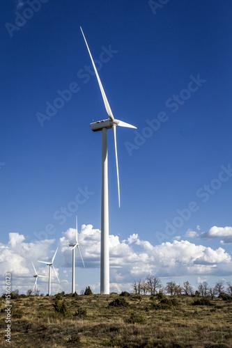Photo Energía eólica. Molinos de viento