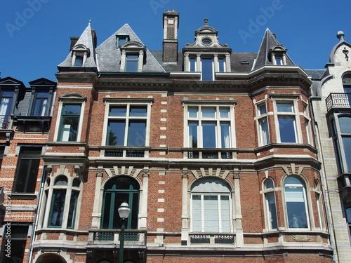 Brüssel: Schöne Altbau-Fassaden