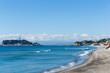 Enoshima Beach in Kamakura City