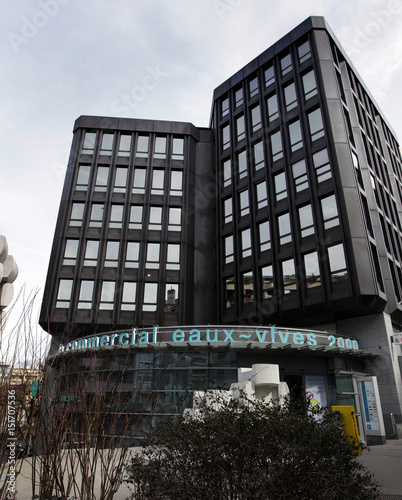 View of building in which Trafigura has its offices in