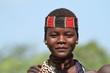 Leinwanddruck Bild - Hamar Frauen aus dem Omo Valley in Äthiopien