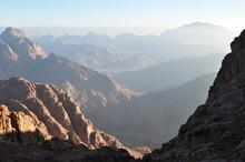 Trekking Down Mt. Sinai