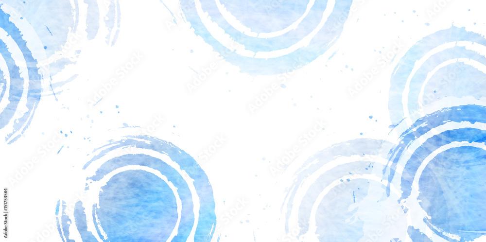Fototapeta 海 波 和紙 背景