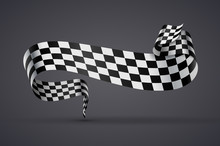 Black And White Checkered Flag...