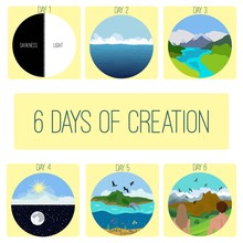 Six Days Of Creation.Genesis. ...