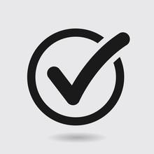 Check List Button Icon. Check ...