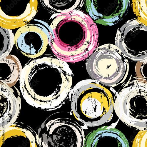 Plakaty kolorowe okręgi