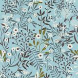 Vintage kwiatowy wzór bez szwu - 151843716