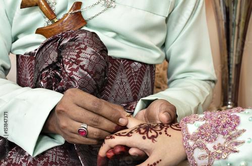Fotografía  Malay wedding traditional in Malaysia