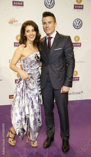 Singer Katie Melua And Her Husband James Toseland Arrive For Echo Music Awards Ceremony In Berlin This Stock Photo Explore Similar Images At Adobe