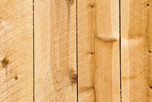 Planks Of A New Cedar Privacy ...
