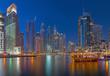 Dubai - The evening Marina.