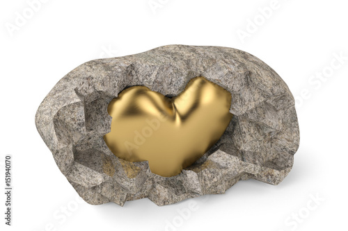 zlote-serce-w-kamieniu