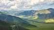 Viev from Chike-Taman Pass. The Republic of Altai