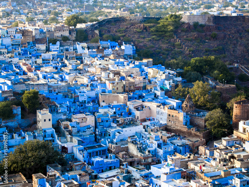 Jodhpur the blue city Canvas Print