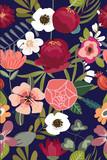 Vintage Floral Seamless Pattern - 151997787