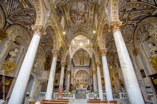 Fotografie, Obraz  GENOA (GENOVA), ITALY, MAY 05, 2017 - San Matteo (Mattew) Church, the interior,