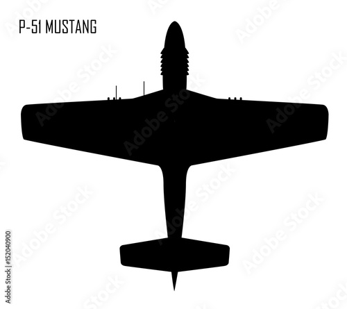World War II - North American P-51 Mustang Wallpaper Mural