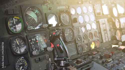 Türaufkleber Hubschrauber Helicopter Cockpit