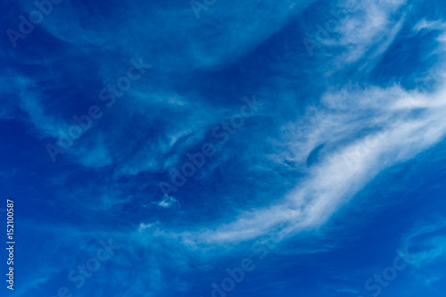 Fototapety, obrazy: White cloud with Blue sky