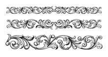Vintage Baroque Victorian Fram...