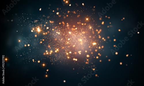 Photo  firework sparkles