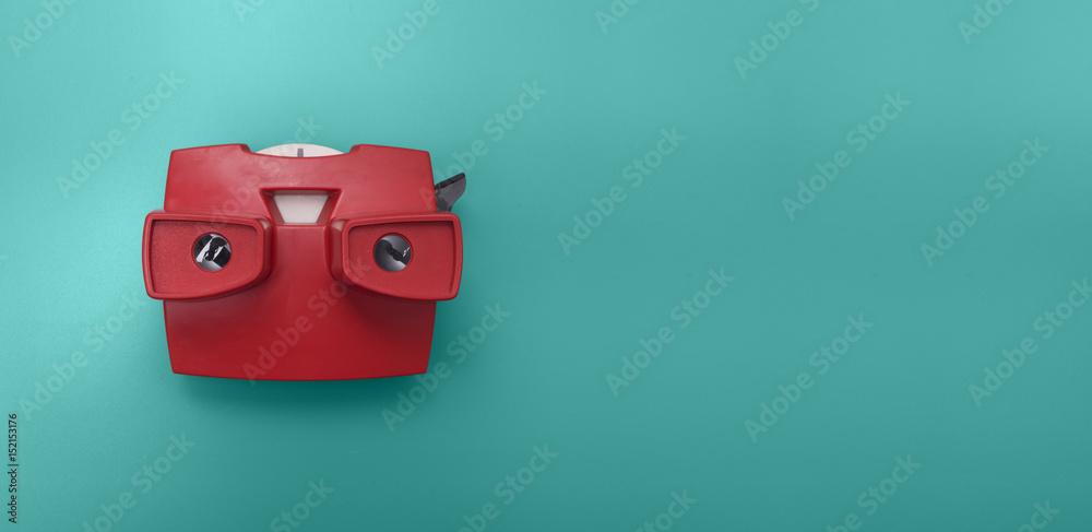 Fototapety, obrazy: Retro toy header