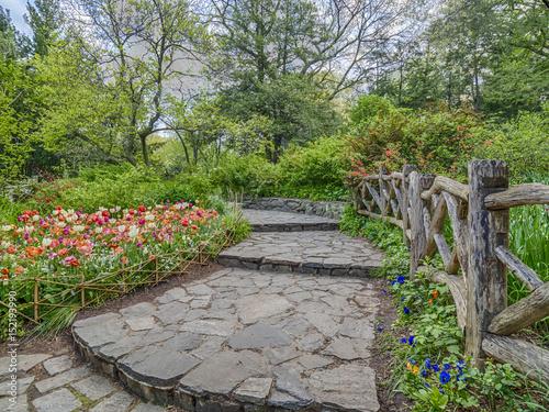 Shakespeare Garden Central Park, New York City - Buy this stock ...