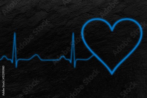 Fotografie, Obraz  Electrocardiograma