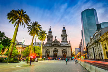 Plaza De Armas, Santiago De Ch...