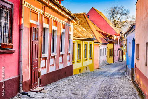 Canvas Prints Eastern Europe Sighisoara - Transylvania, Romania
