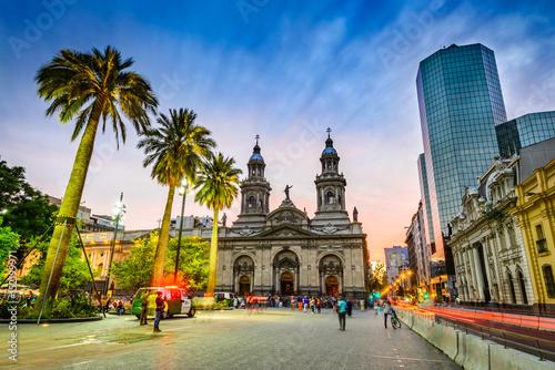 Fotografía  Plaza de Armas, Santiago de Chile, Chile