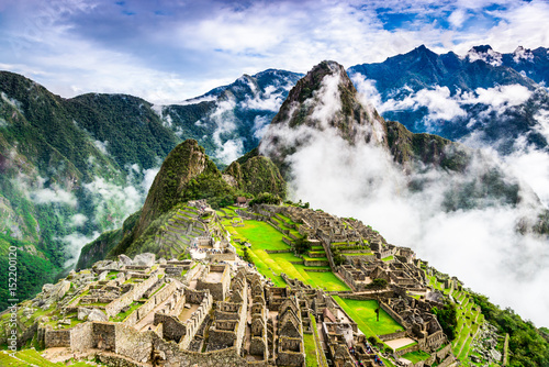 Photo Stands South America Country Machu Picchu, Cusco - Peru