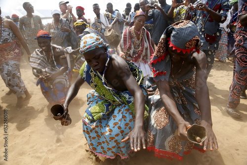 A Picture And Its Story: Voodoo festival of Benin - Buy this