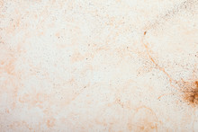 Beige Background With Stains.