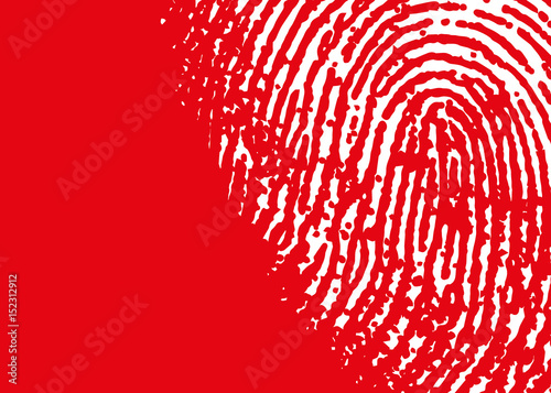 Fingerprint Fototapet